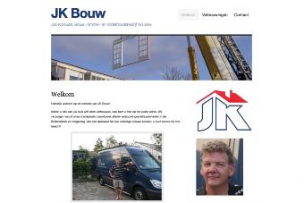 Website gebouwd door webfaciliteiten van JK Bouw uit Lisserbroek